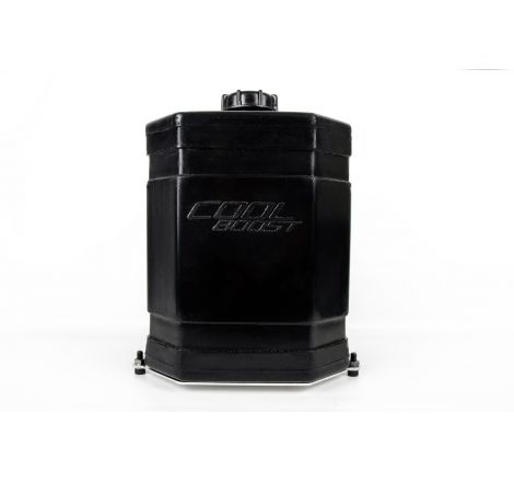 Cool Boost 10.5L Black Tank with baseplate and bolts