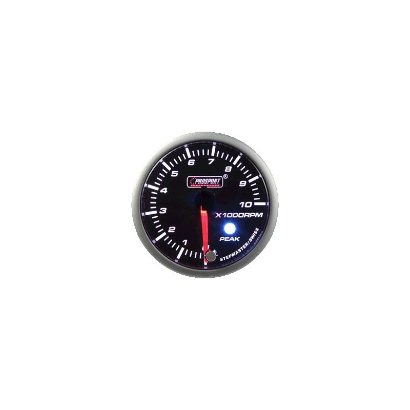 Prosport 52mm Analogue Tachometer Gauge with Peak Recall Prosport - 3