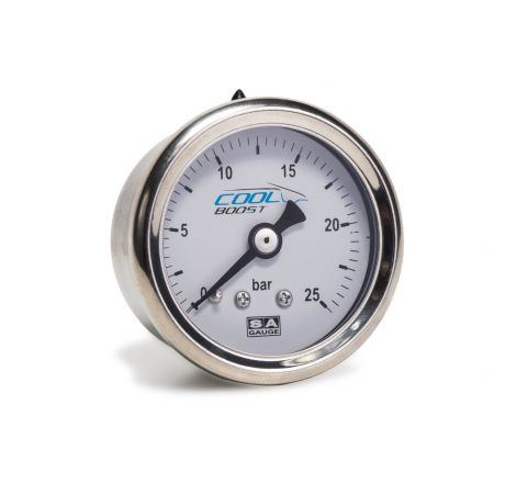 Cool Boost 25Bar System Pressure Gauge with Bracket - 4