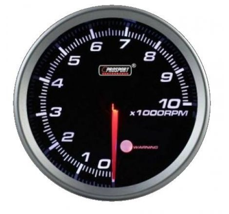 Prosport 80mm Analogue Tachometer with LED Display Prosport - 1
