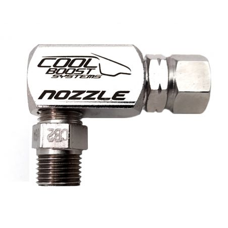 Cool Boost 6mm Pipe Side Feed Nozzle Holder Low Profile Cool Boost Systems - 2