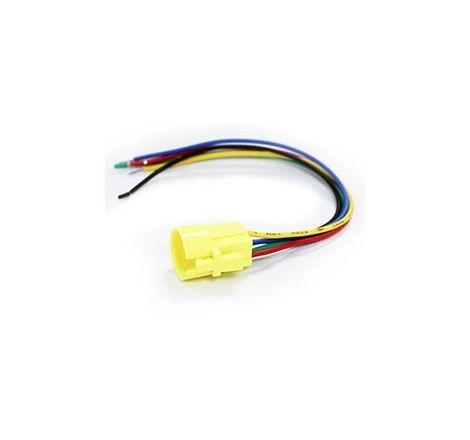 16mm Black Latching Black Push Button Switch - Blue LED