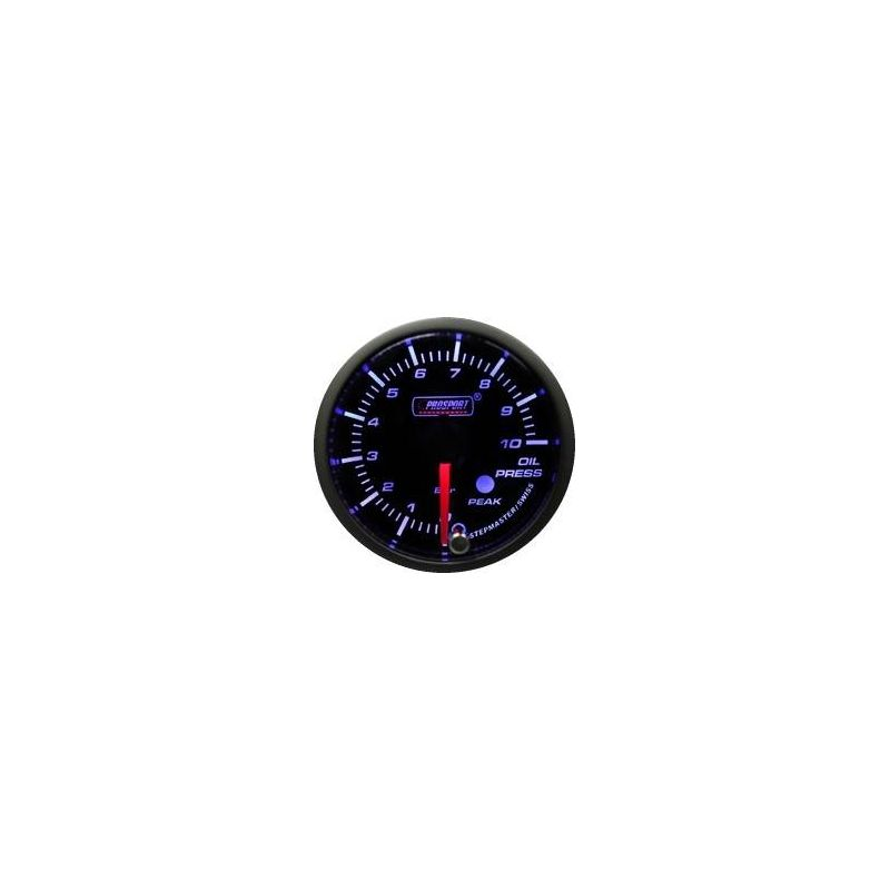 Prosport 52mm Analogue Oil Pressure Gauge with Peak Recall Prosport - 1