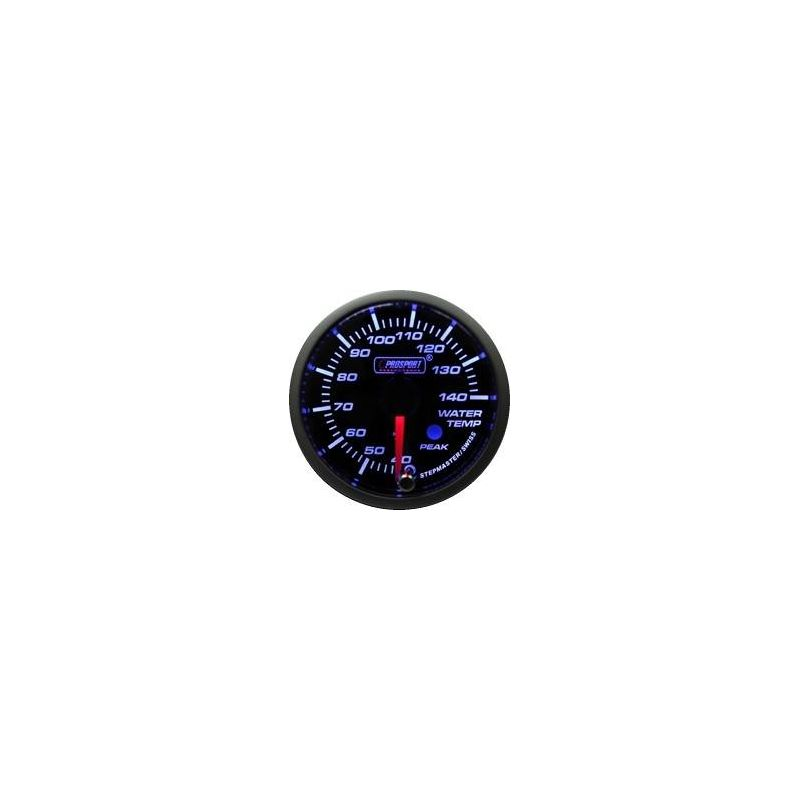 Prosport 52mm Analogue Water Temperature Gauge with Peak Recall Prosport - 1