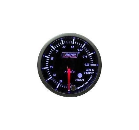 Prosport 52mm Analogue Fuel Pressure Gauge with Peak Recall