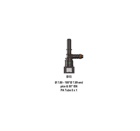 Quick Release 7.89F to 8mm Barb to 7.89M Cool Performance Products - 1