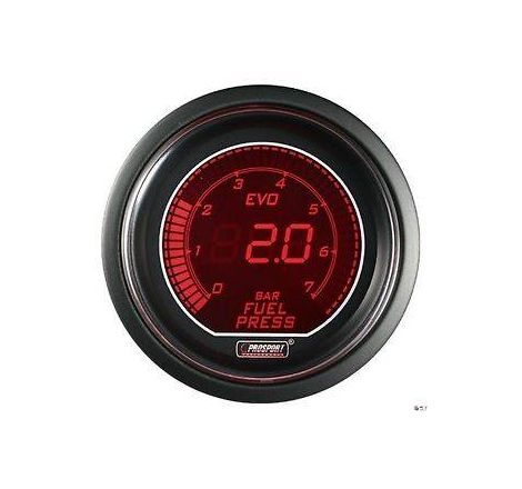Prosport 52mm EVO Fuel Pressure Gauge