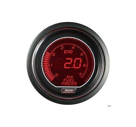 Prosport 52mm EVO Fuel Pressure Gauge