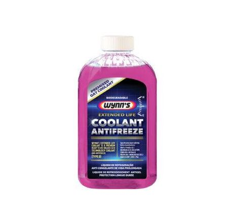 Wynn's extended life coolant/antifreeze (oat) 1l - 1