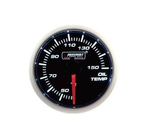 Prosport 52mm Analogue Oil Temperature Gauge - 1