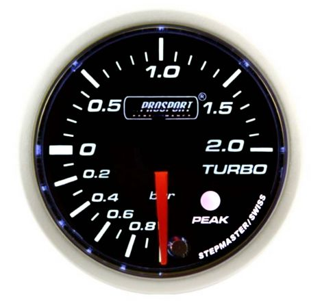 Prosport Analogue 52mm 2Bar Boost Gauge