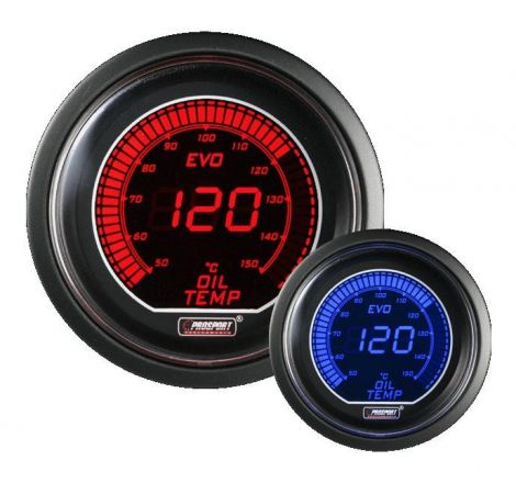 Prosport 52mm EVO Oil Temperature Gauge