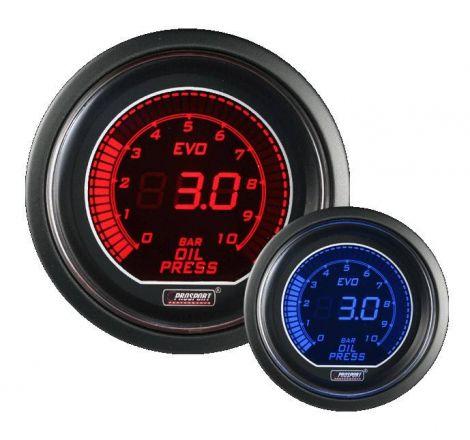 Prosport 52mm EVO Series Oil Pressure Gauge