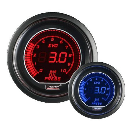 Prosport 52mm EVO Oil Pressure Gauge