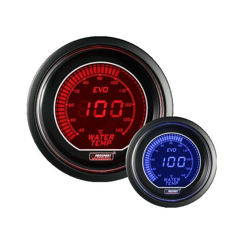 Prosport 52mm EVO Series Oil Temperature Gauge