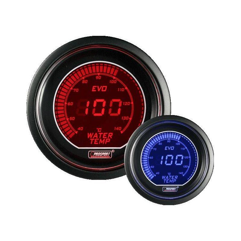 Prosport 52mm EVO Series Oil Temperature Gauge