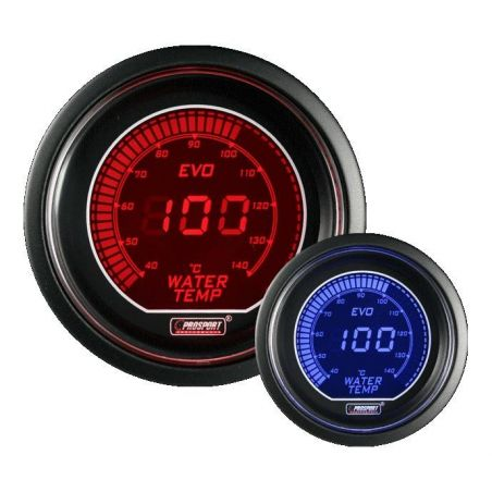Prosport 52mm EVO Water Temperature Gauge
