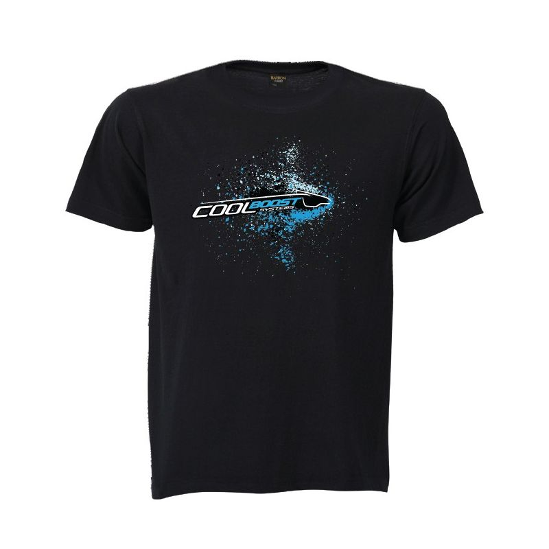 Cool Boost Black CBS T-Shirt Cool Boost Systems - 1