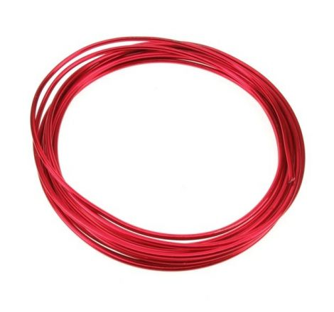 1.0mm Red Multistrand Wire