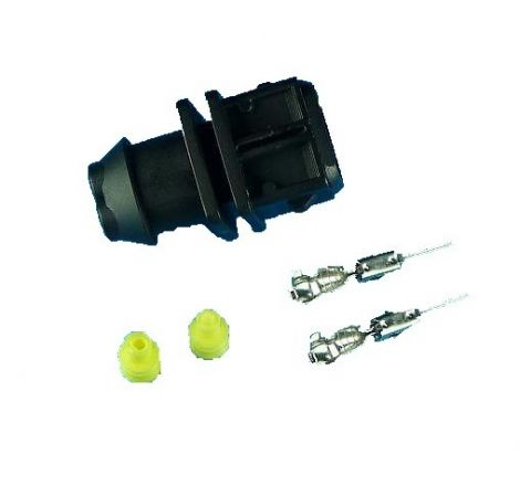Injector 2 PIN EV1 / Jetronic Plug Male