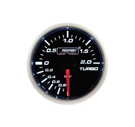 Prosport 52mm Analogue 2Bar Boost Gauge Mechanical