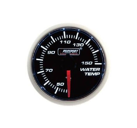 Prosport 52mm Analogue Water Temperature Gauge
