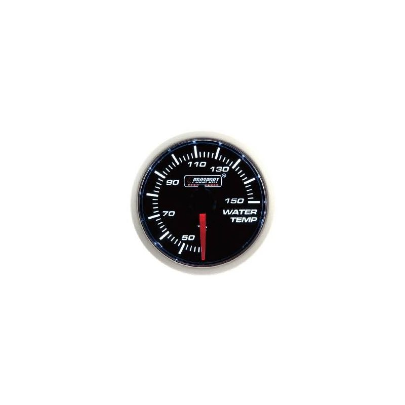 Prosport 52mm Analogue Water Temperature Gauge Prosport - 1